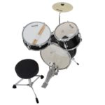 Drum set & Throne - MJDS-1-BK