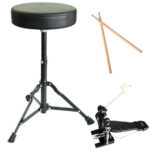 Throne - Drum sticks - Bass drum pedal - MDS80-BL