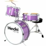 Image of the 13-inch 3-Piece Mendini Junior Drum Set
