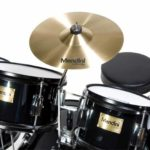 Image of the Crash cymbal view of the MJDS-5-BK Drum set