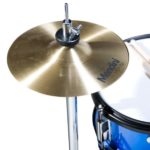 Image of the Hi-hat cymbal view of the MJDS5-BL Drum set