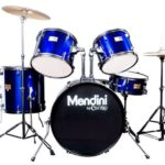 Image of the Mendini Drums Adult drum set in Blue