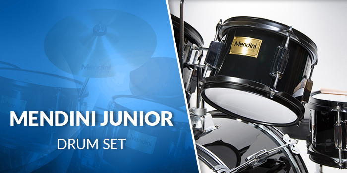 Mendini Junior Drum Set - Desktop Hero Banner
