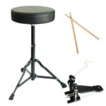 Throne, Drum sticks & Bass drum pedal of the MDS80-WH