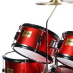 Image of the Tom view of the MJDS5-BR Drum set