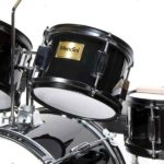 Image of the Toms drum view of the MJDS-5-BK Drum set