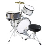 Top view image of the MJDS-3-SR Drum set
