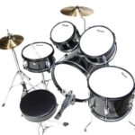 Image of the top view of the MJDS-5-BK Drum set