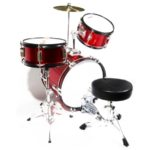 Top view image of the MJDS-3-BR Drum set