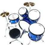 Image of the Top view of the MJDS5-BL Drum set