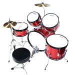 Image of Top view of the MJDS5-BR Drum set