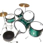 Image of the Top view of the MJDS5-GN Drum set