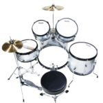 Image of the Top view of the MJDS5-SR Drum set