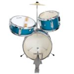 Front view of the MJDS-1-BL junior drum set