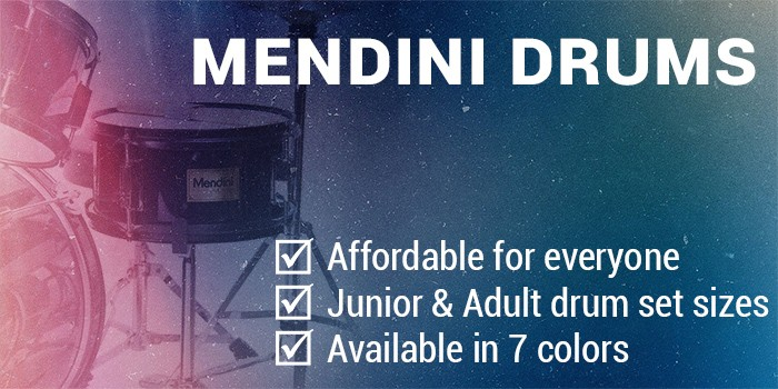 Mendini by Cecilio drum set - Desktop Hero Banner