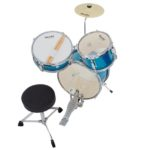 Top view image of the MJDS-1-BL Drum set